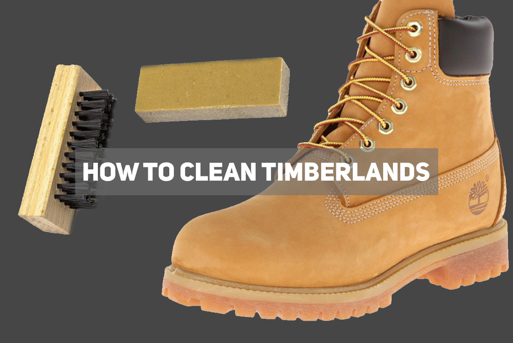 how to clean black timeberlands