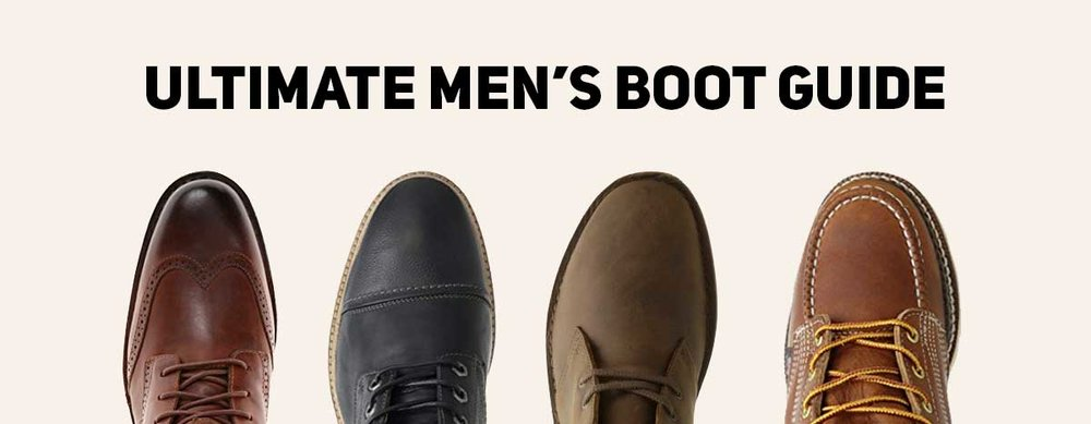 ultimate mens boot guide to style fit and buying options