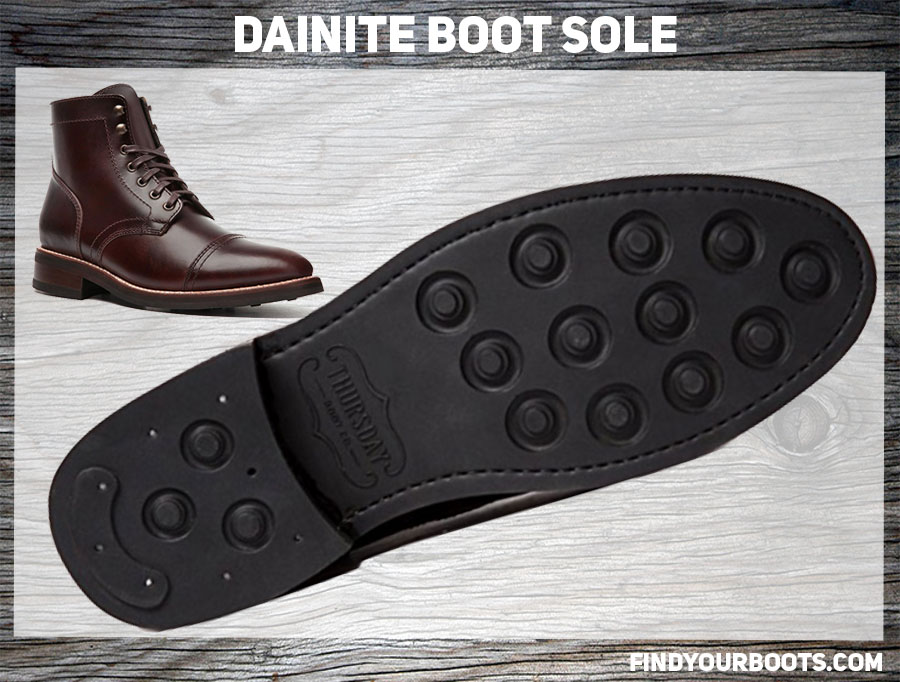 Dainite Sole Example - Thursday Captain Lace-Up Boot