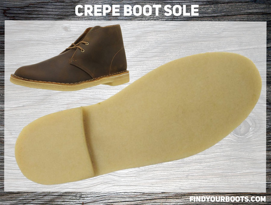 Crepe Sole Example - Clarks Desert Boot
