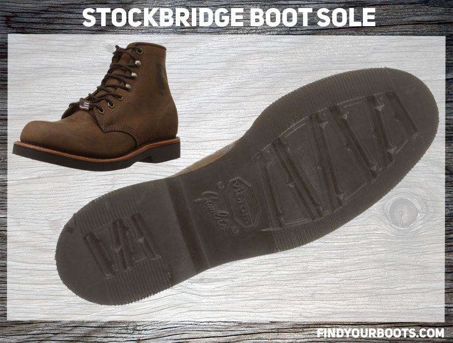 Vibran Stockbridge Example - Chippewa Apache Handcrafted Rugged Boot