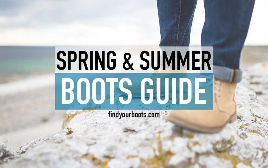 Mens summer boots - Best warm weather summer boots for men