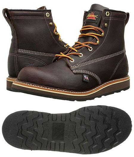 Thorogood Wedge Sole Boot - Classic Americana Style