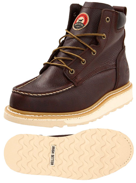 Irish Setter Ashby Work Boot - Features Made In USA Leather