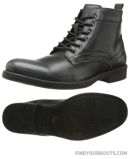 The Delorean Boot is one of many combat boot styles Steve Madden currently offers.
