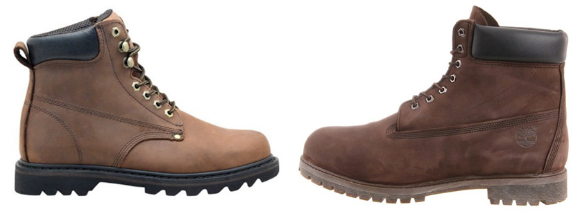 The Ever Boots Tank in Brown premium leather are a cheaper alternative to brown Timberland boots.