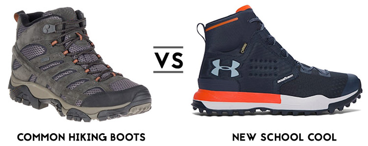cool hiking boots - stylish hiking boots for men