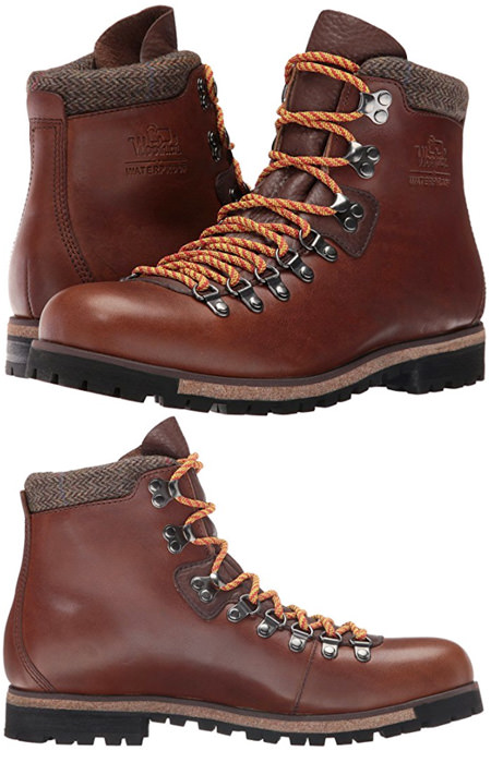 Vintage style hiking boots - stylish hiking boots for men