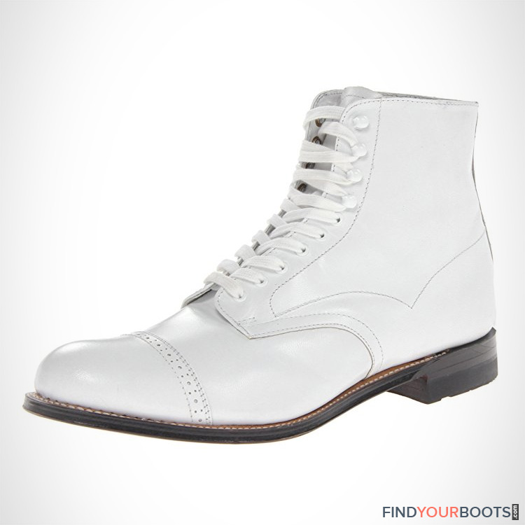 white boots for men - white mens boots
