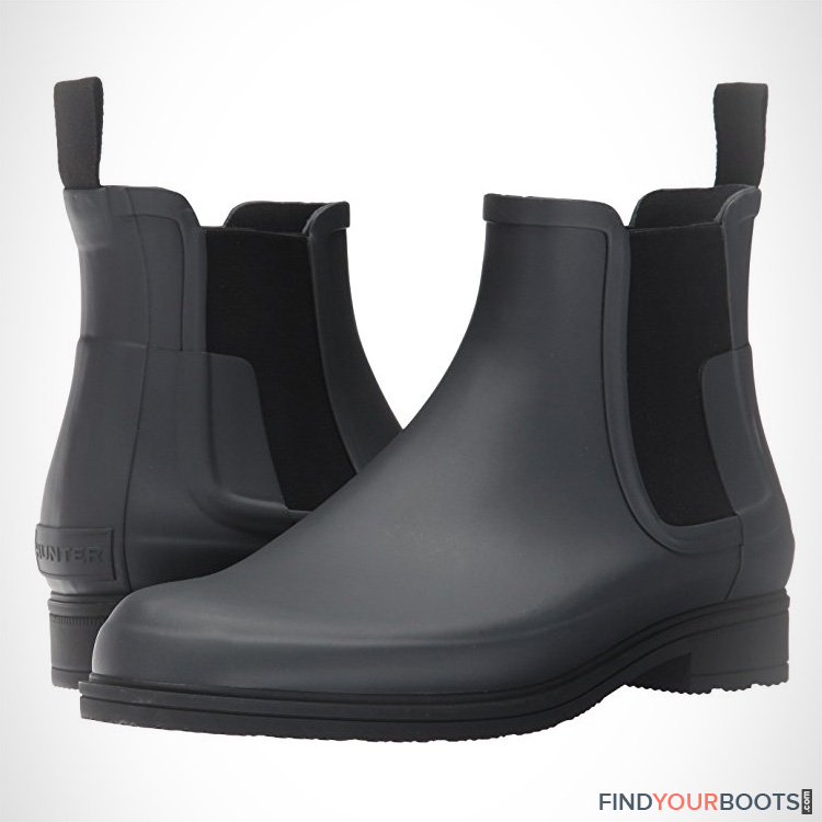 Mens chelsea rain boots - stylish rain boots for men