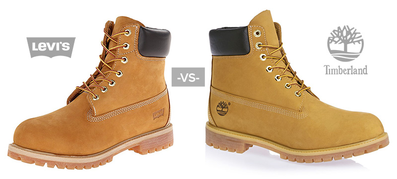 levis boots vs timberland comparison