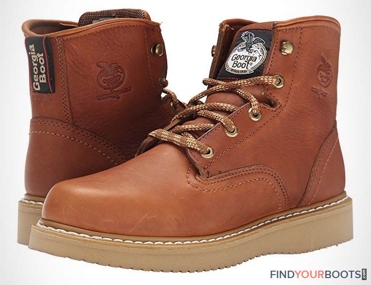 Wedge Soled Work Boots - Best mens work boots with wedge sole