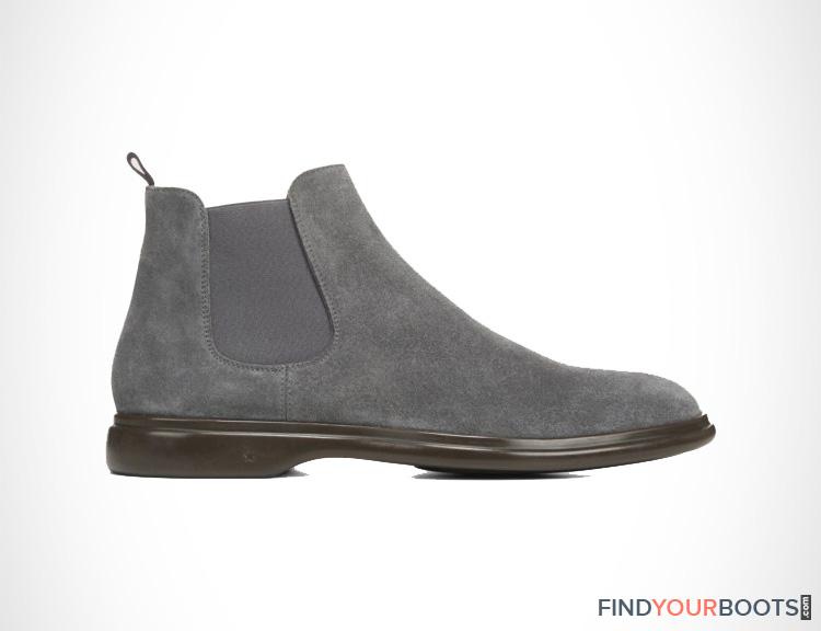Grey Chelsea Boots Mens
