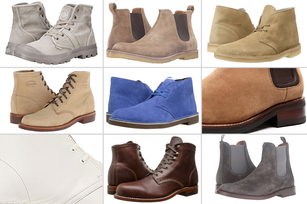 Warm Weather Boots - Best Spring and Summer Boots for Men