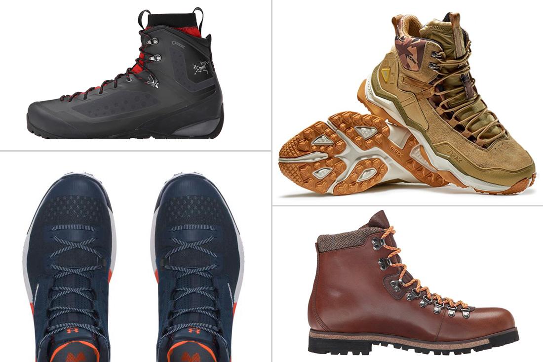 Mens stylish walking boots fotos