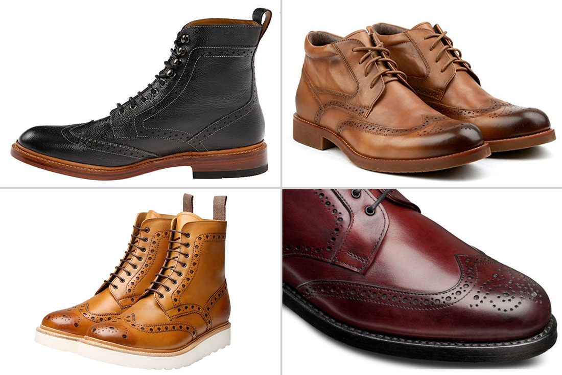 8 Must-Have Brogue Boots for Men