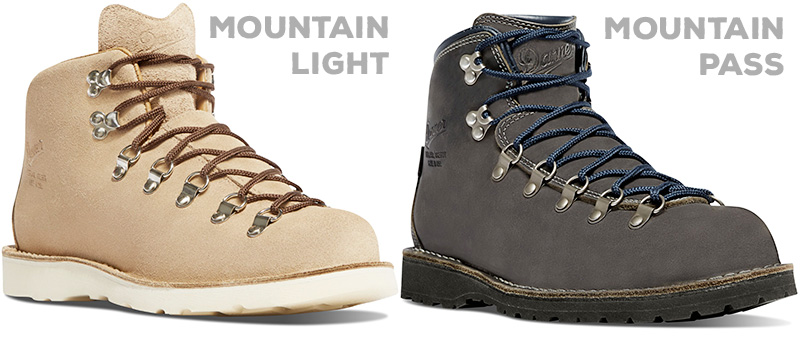 Both the Mountain Light and Mountain Pass have their own exclusive color options.