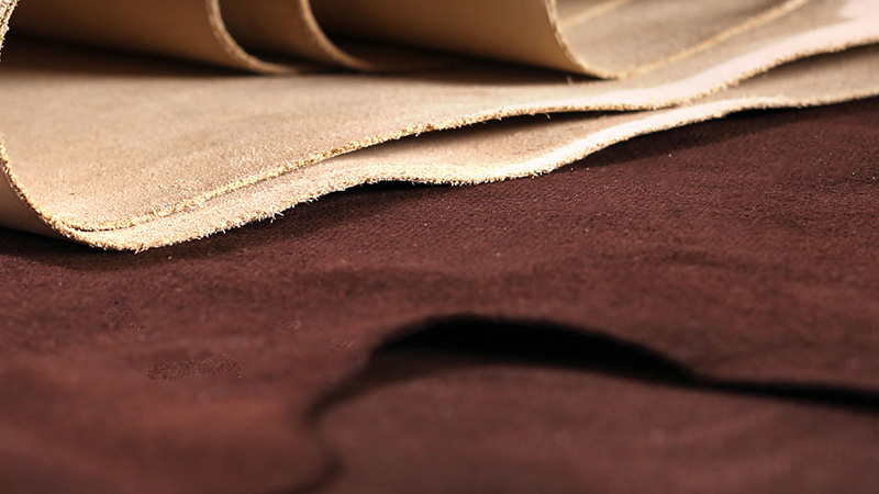 Split leathers are not as strong as their top-grain counterparts.