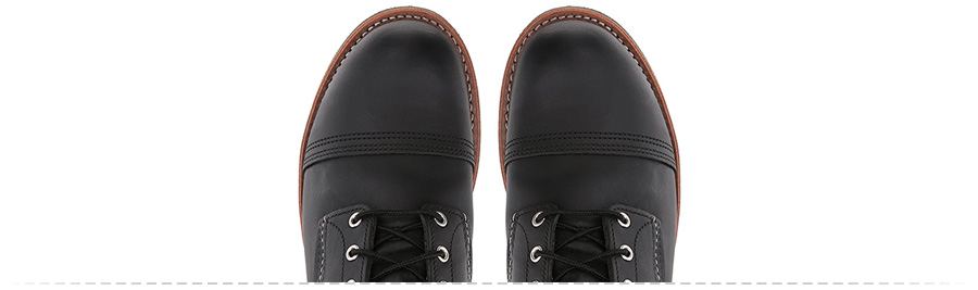 Cap toe boots: Red Wing Iron Ranger ( Amazon )