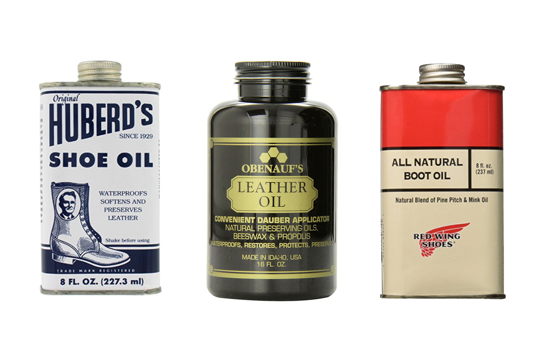 Red Wing Boots Oil