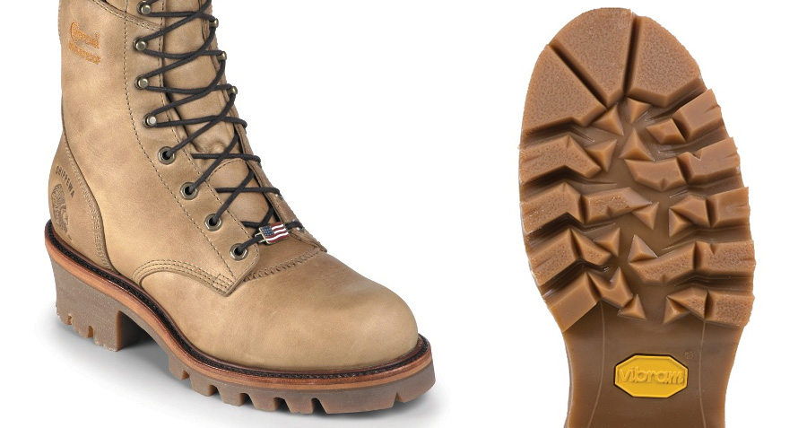 Vibram Logger sole on the Chippewa Magor Logger Boot ( Chippewa )