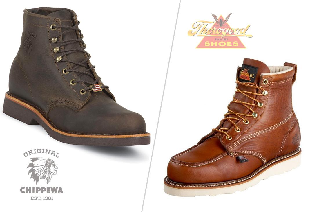 46e979a3ad9 Chippewa vs Thorogood - American Made Work Boots Compared ...