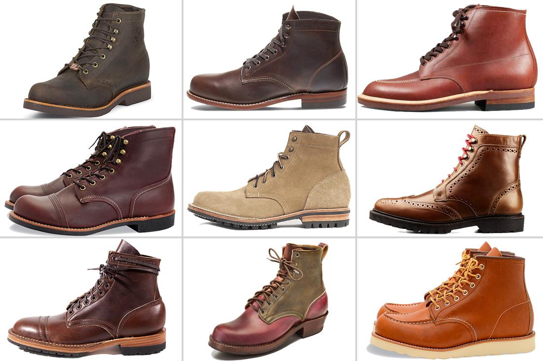 мужская обувь виды и названия с фото
