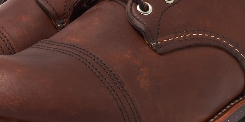 S.B. Tanning Oil-Tanned Leather on the Red Wing Iron Ranger