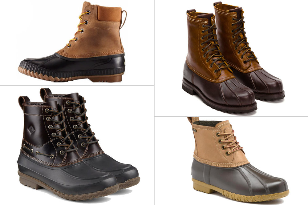 LL Bean Boot Alternatives - Best Mens Duck Boots 2018