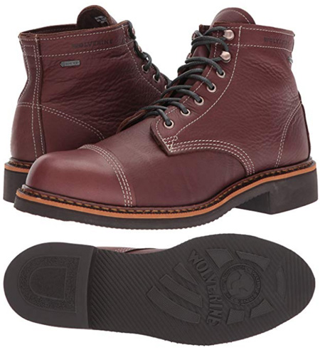 Wolverine Jenson boots are handcrafted in the USA
