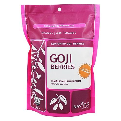 Navitas Naturals Organic Sundried Goji Berries