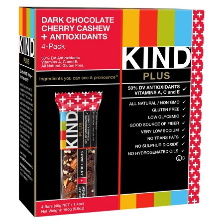 Kind® Dark Chocolate Cherry Cashew + Antioxidants Nutrition Bars