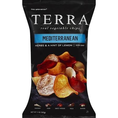 Terra Exotic Vegetable Chips, Mediterranean