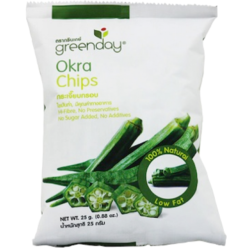 Greenday Natural Okra Chips
