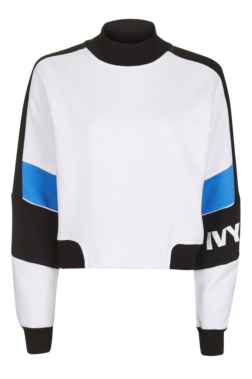 Colour Block Crop Sweat by Ivy Park