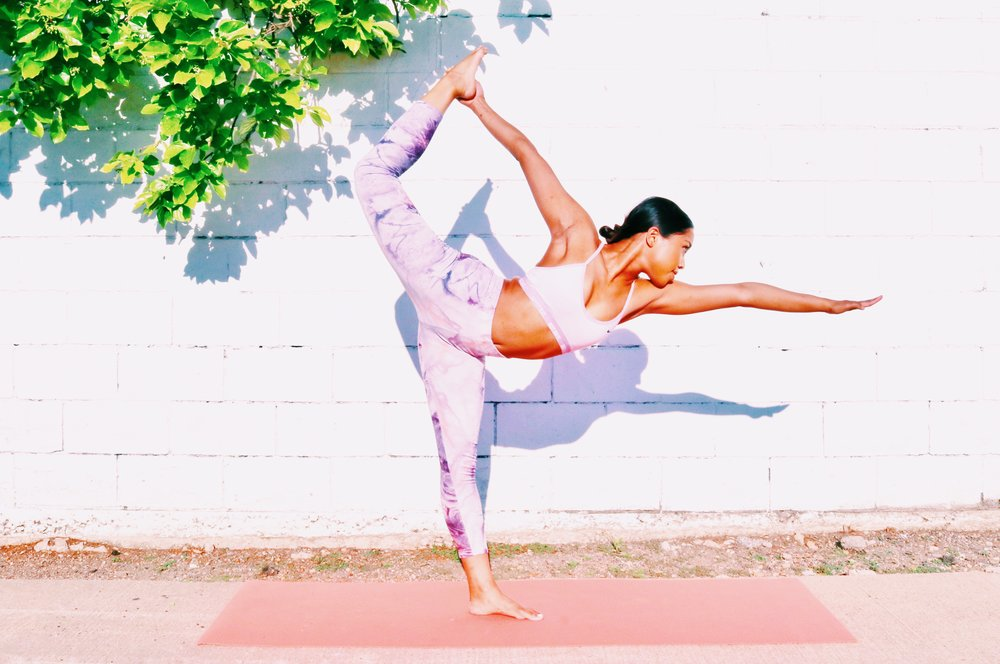 FOR DANCER'S POSE, READ MY HOW TO HERE. -
