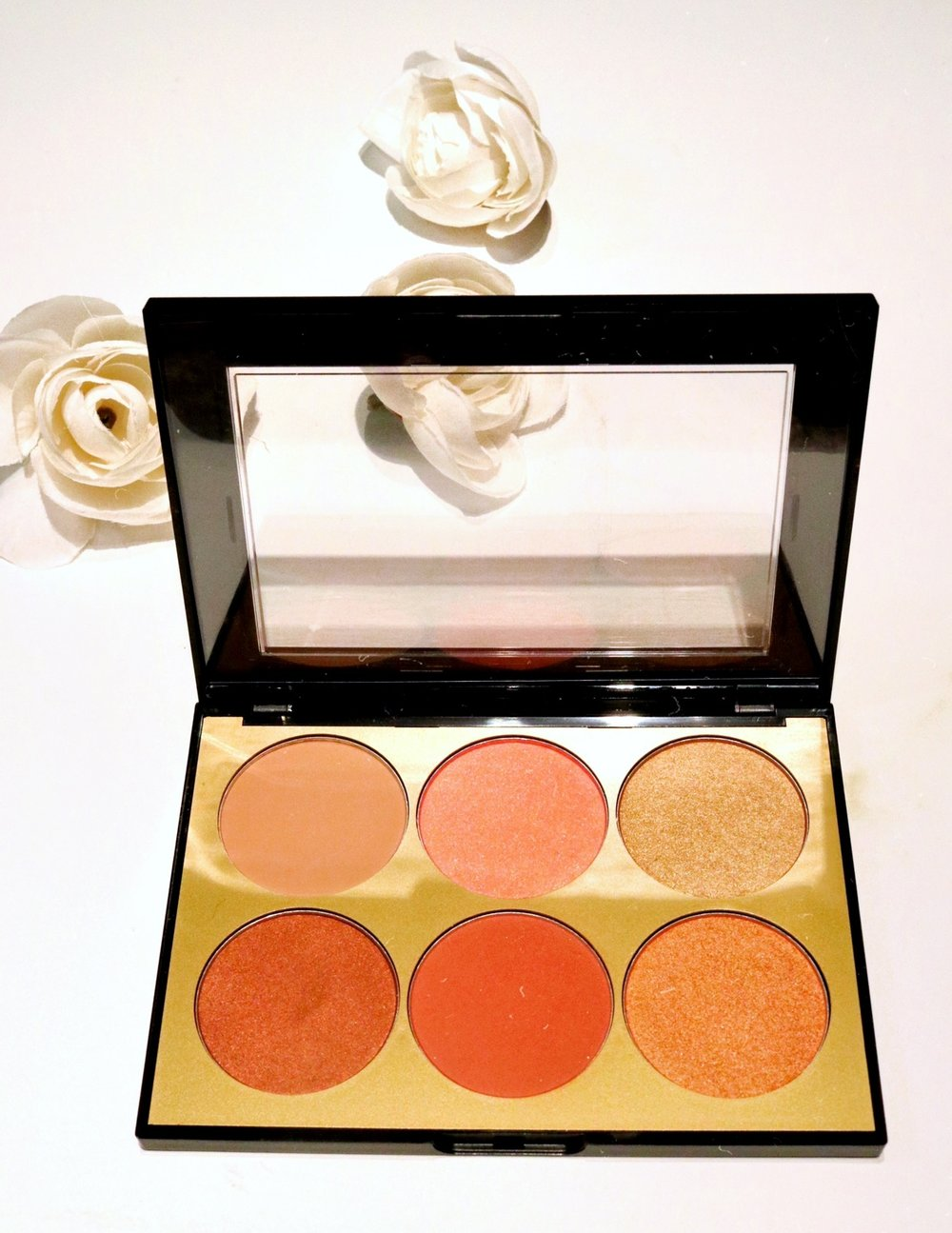 SEPHORA COLLECTION Contour Blush Palette - TEXTURE: MATTE SHIMMERPIGMENTATION: 7BLENDABILITY: 10HONORABLE: CRUELTY FREE