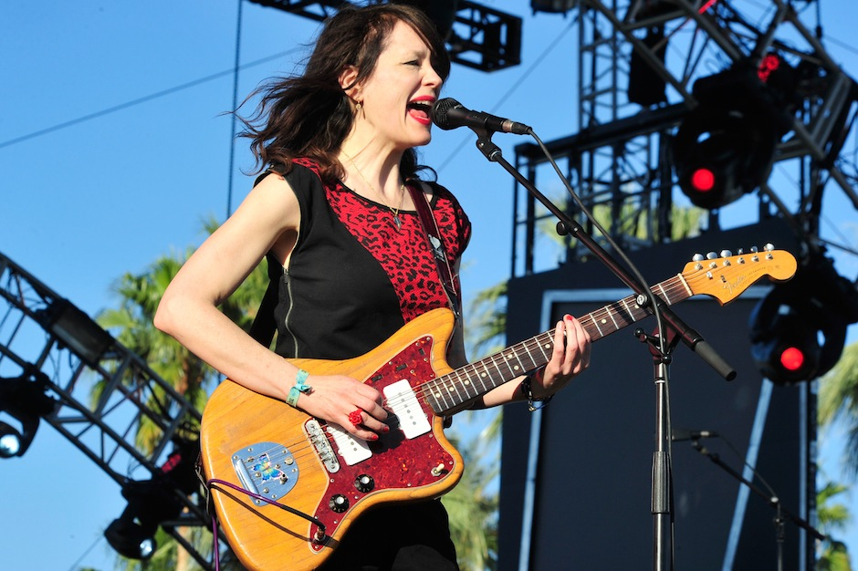 Mary Timony Plays Helium on 9/10 at Red Hat Amphitheater   - Photo by Frazer Harrison/Getty Images