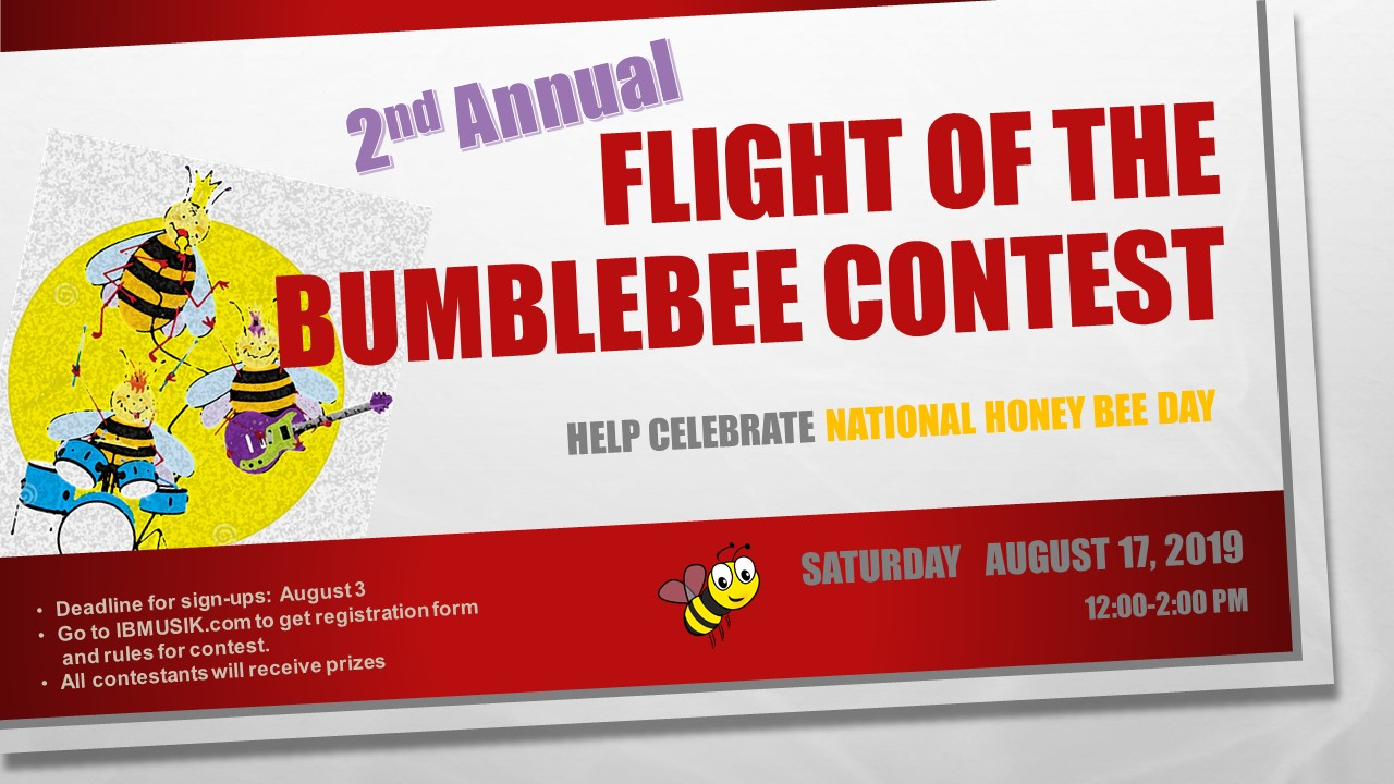 Flight of the Bumblebee Contest — Ingram & Brauns