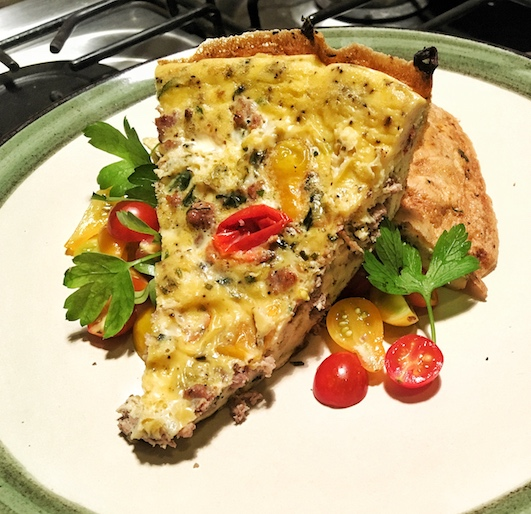 Farm to Table Garden Frittata