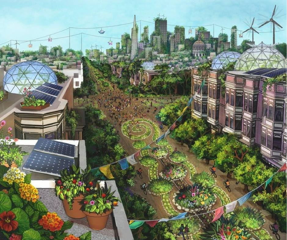 A virtual Permaculture City. Can you imagine?