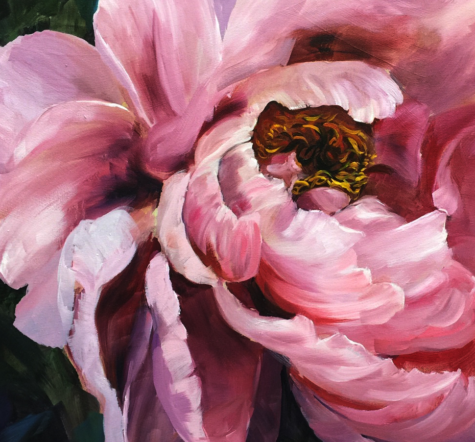 This month we feature the beautifully detailed oil paintings of Michelle Xiao. Her art expresses femininity and romance and will be on display through MAR 1. She'll be tapping a firkin keg on FRI FEB 2 at 5 pm. Join us!