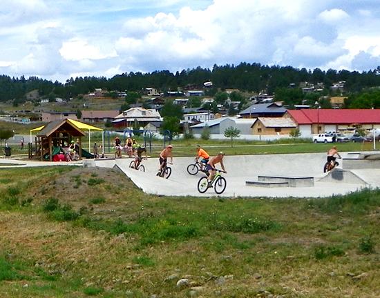 Yamaguchi Skatepark, Pagosa Springs, CO - Phase I