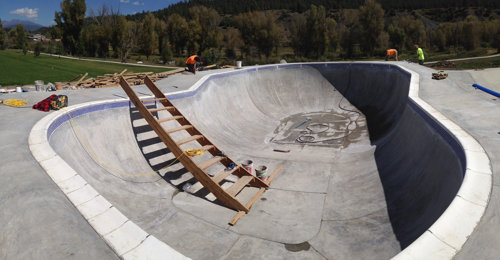Yamaguchi Skatepark, Pagosa Springs, CO - Phase II