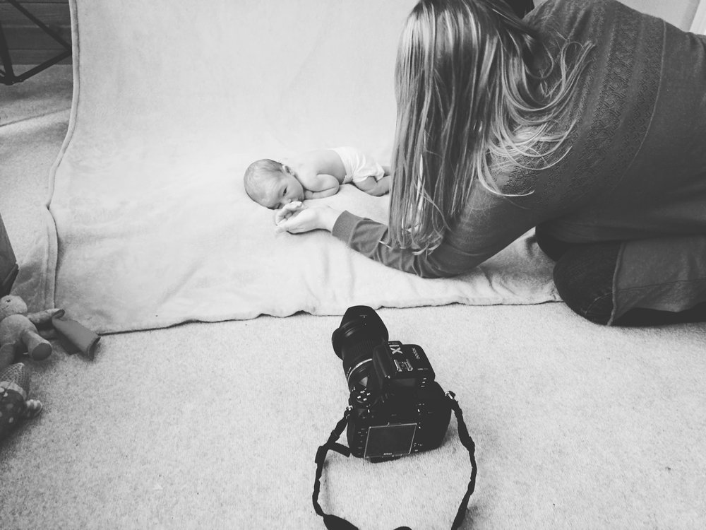 Shepreth Cambridgeshire newborn photography session