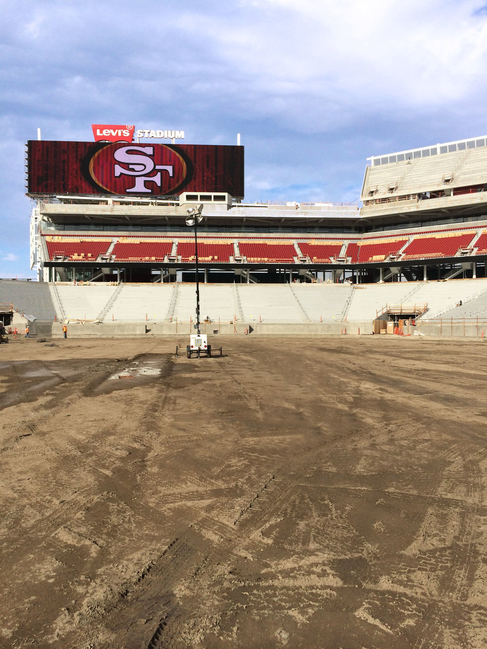 Levi's Stadium - Santa Clara, California: TSX-8500 and ECOMAX™ Wall Solution