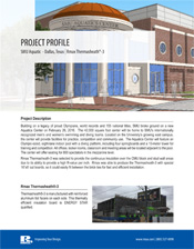 Rmax Project Profile - SMU Aquatics Center