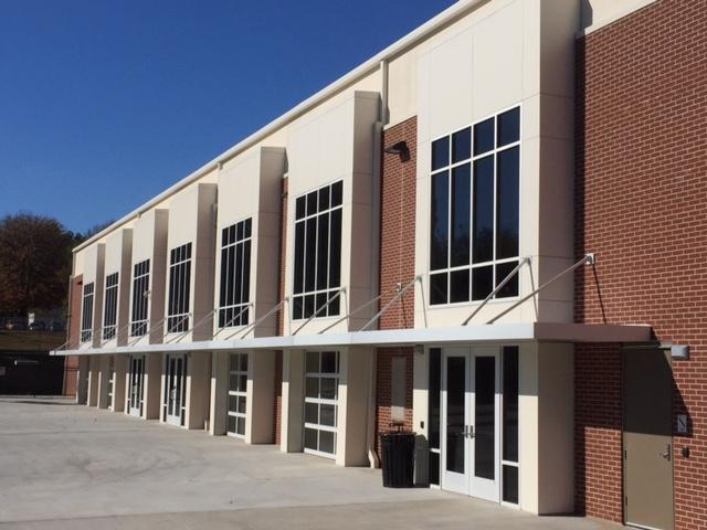 McCadams Athletic Center, Lipscomb Academy - Nashville, Tennessee: ECOMAXci™ Wall Solution