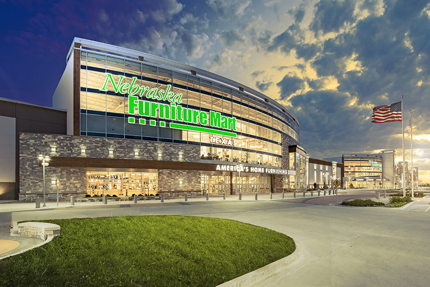 NEBRASKA FURNITURE MART Project profile