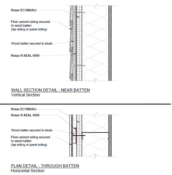 Attachment Details at Wood Batten